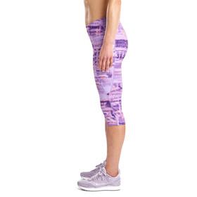 saucony Bullet 2.0 Capri Shorts Damen violet indigo